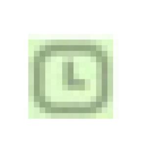 ikon jam dalam pesan wa